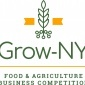 A green and yellow logo for Grow New York